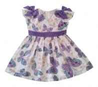 COTTON&BUTTON - DOUBLE BOW BUTTERFLY PURPLE