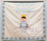 LINEN & LACE - BABY BLANKET LITTLE PRINCE